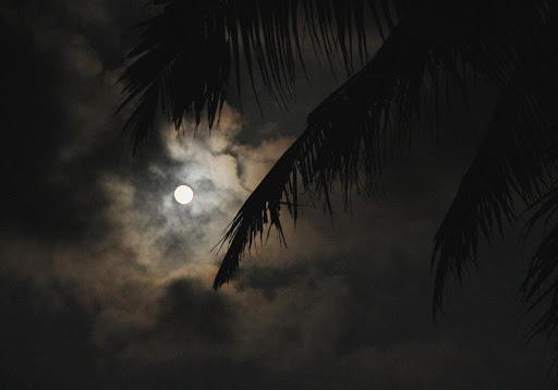 Lever de lune sur Andaman
