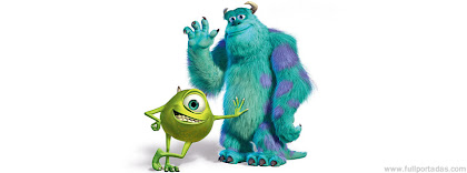 Portada para facebook de Sulley y Wazowski (Monsters inc)