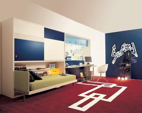 Freshhomeandgarden decoraci n dormitorios camas abatibles - Camas rebatibles ...