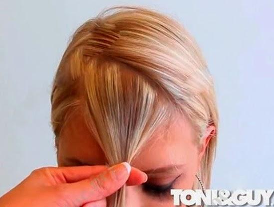 Day cat toc nu co ban huong dan cat toc mai 6 Dạy cắt tóc nữ cơ bản, Kiểu tóc ngang chúi tầng thấp