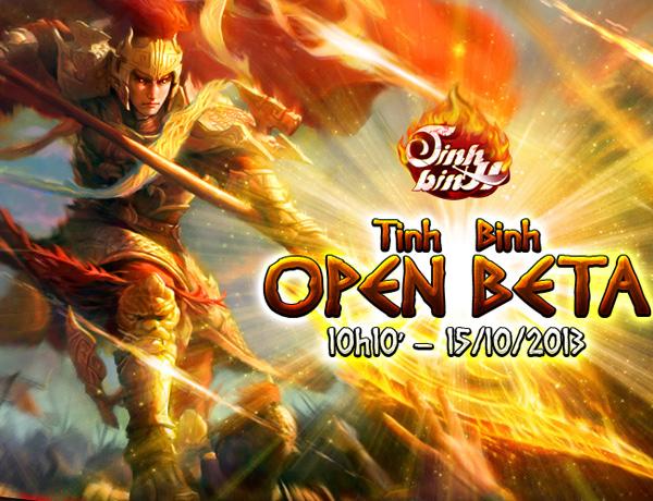 Tinh Binh ra mắt phiên bản Open Beta 1