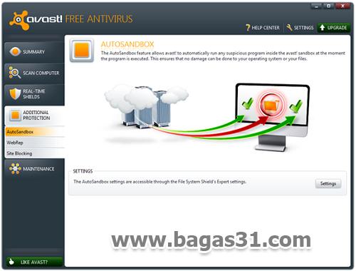 Avast Antivirus 6 Free Edition + Serial 3