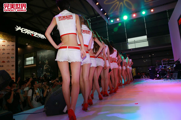 Ngắm dàn mỹ nữ của Perfect World tại ChinaJoy 2013 18