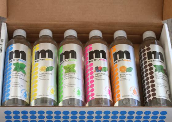 photo of bottles of metromint
