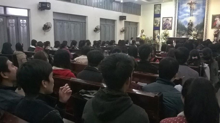 Thánh lễ cuối cùng của Sinh viên Hưng Hóa tại Hà Nội trong năm âm lịch Giáp Ngọ 2014