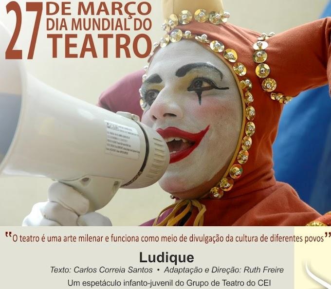 """Natal: Programação do Dia Mundial do Teatro será aberta com espetáculo """"Ludique"""""""