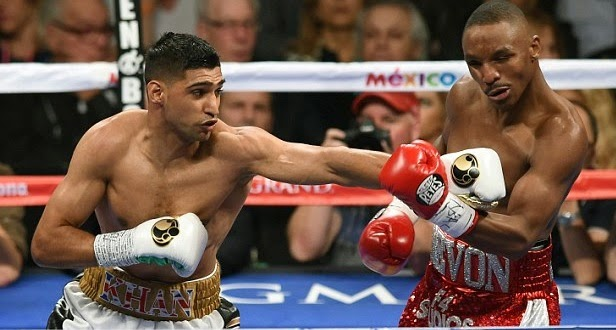 Amir Khan totally dominates