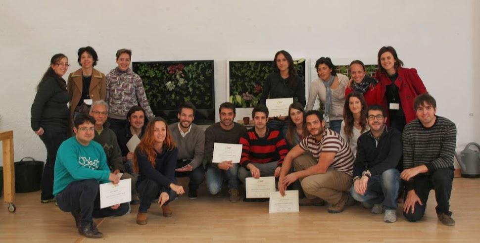 Curso de jardines verticales en Barcelona