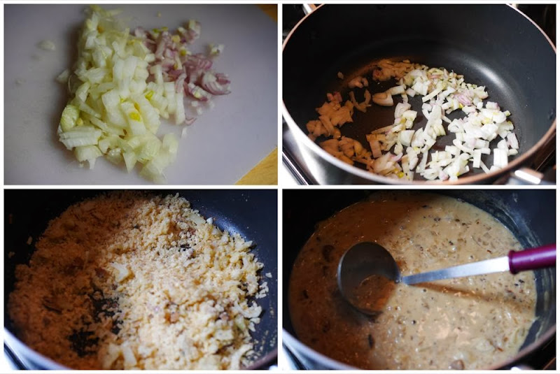 Making the Truffle Risotto