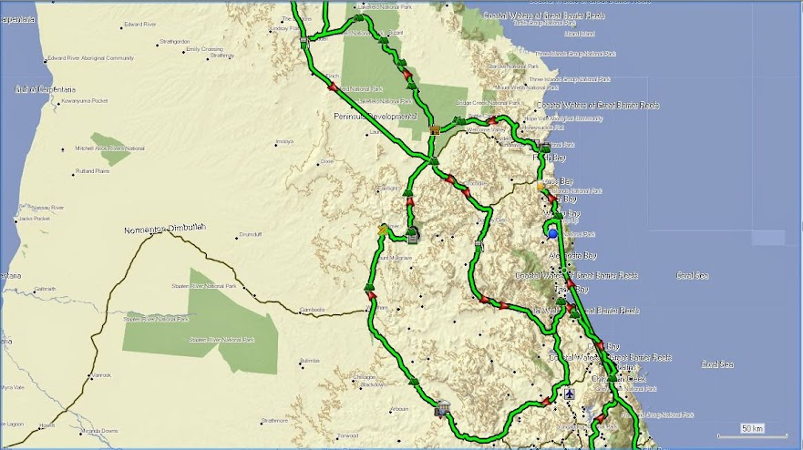 2014 Cape York via a few Side Detours Trip Queensland  Australia