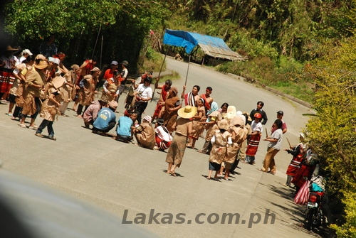 Ifugao's Practicing for Banaue Imbayah 2011
