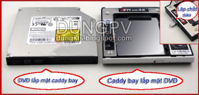 Mua bán Caddy bay SATA 12.7mm cho tất cả các loại laptop