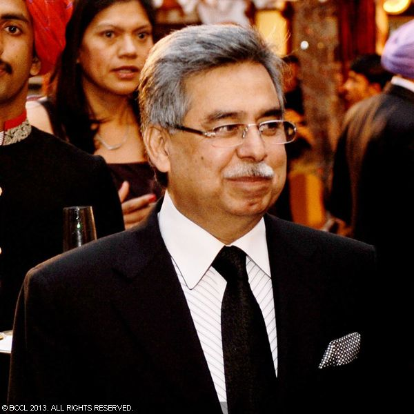 Pawan Munjal at an event hosted by His Highness Maharaja Gaj Singh II in support of Indian Head Injury Foundation in Delhi. This event was preview of the new BMW 7 series prior to its launch in India.