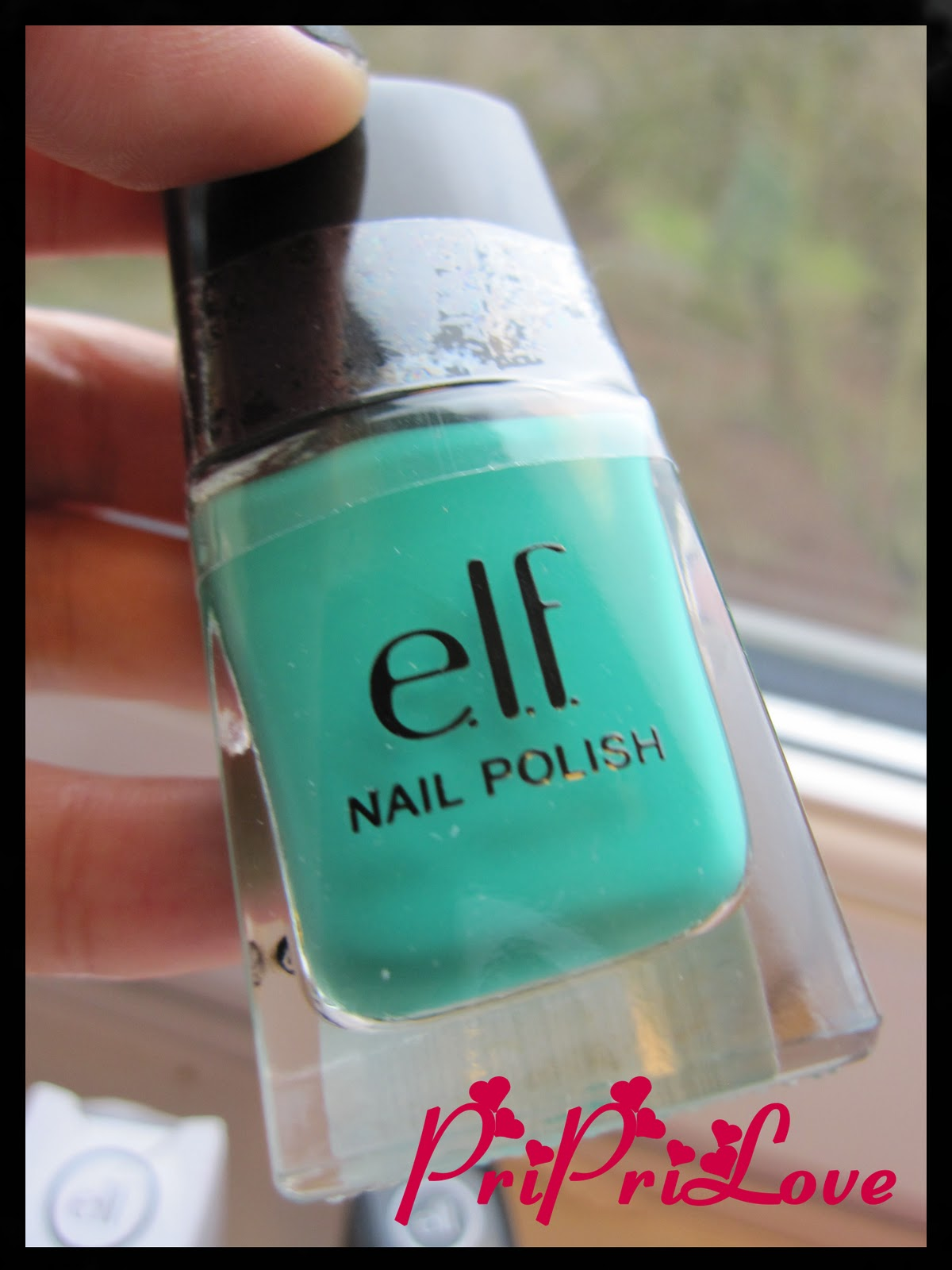 PriPriLove::: Review & Swatch: E.L.F. Nail Polish in Teal Blue
