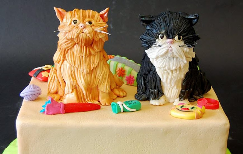 Cat Birthday Cakes