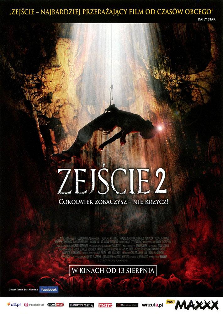 Ulotka filmu 'Zejście 2 (przód)'