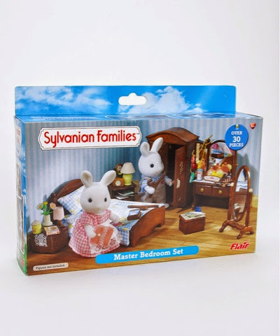 Sylvanian Families Master Bedroon Set on offer at £7.99