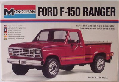 Next In Line From Monogram Was The Companion Bronco To The F  Released In  The Bronco Borrows Heavily From The F  Tooling Just As The