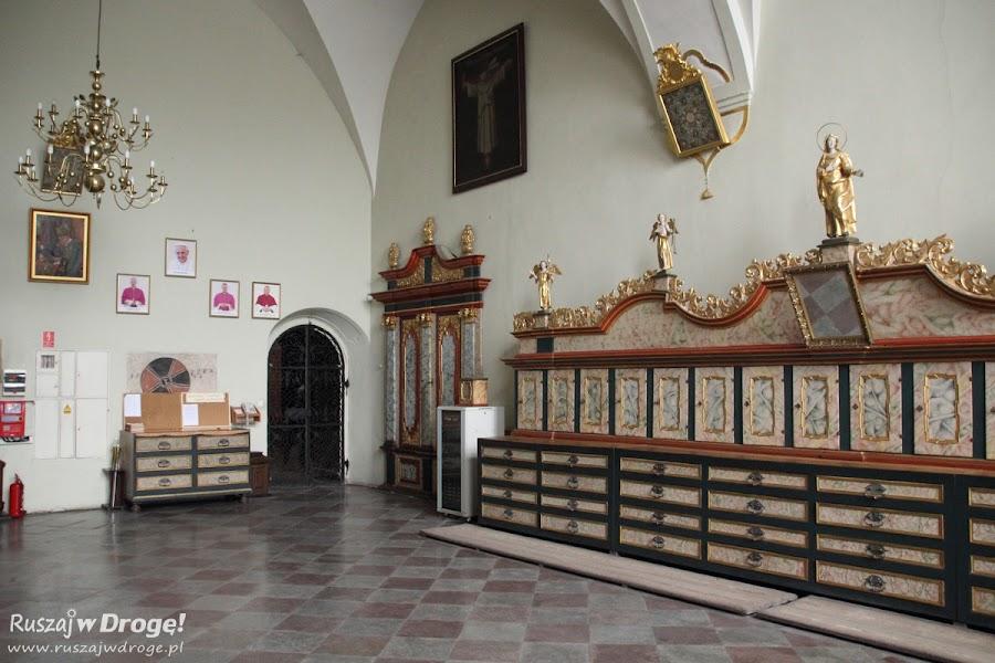 Katedra w Pelplinie - zakrystia