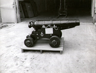 Undated Photo - Apollo Bay cannon after its had been restored