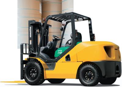 Xe nâng Komatsu diesel 5 tấn