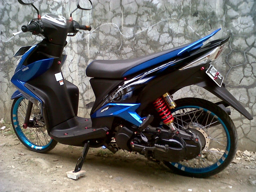 Foto Modifikasi Scoopy Velg 17