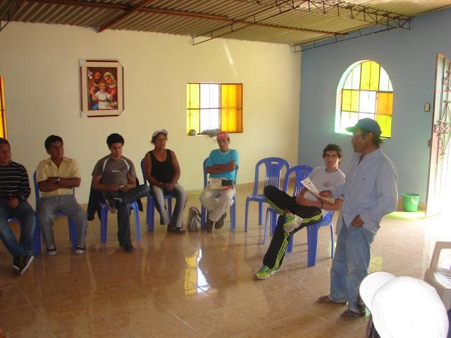 Don Eloy de Naranjal, compartiendo