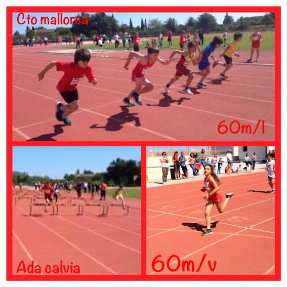 Cto Mallorca Alevin 60L Claudia Pujol y Josep Bort 60V Martina Dominguez y Enrico Balbo