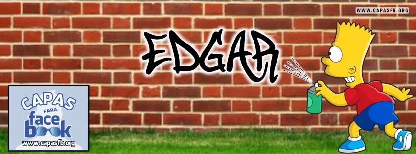 Capas para Facebook Edgar