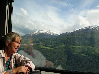 Riding the rails in Europe. Photograph by Janie Robinson and Brian Quinn, Travel Writer