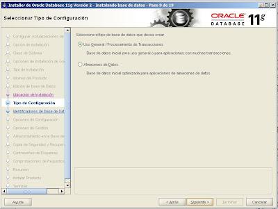 Instalar Oracle Database 11g x64 en equipo con Microsoft Windows Server 2008 R2 Enterprise x64
