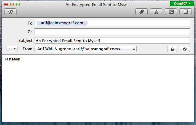 Sending An Encrypted Email With OSX Mail App + GPGTools