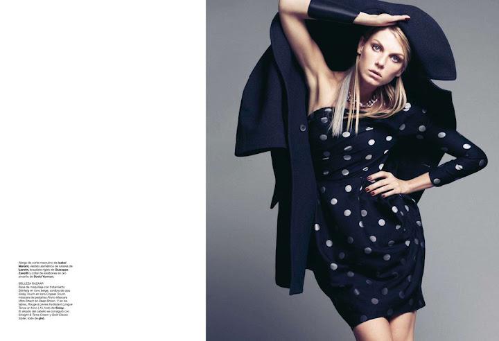 Harper's Bazaar España, noviembre 2011 - Angela Lindvall