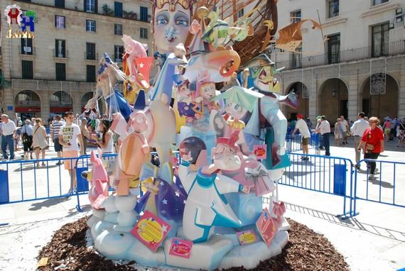 Hoguera 2013 Infantil Ayuntamiento