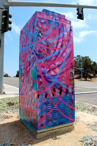 Victor Angelo Public Art Painting Intersection