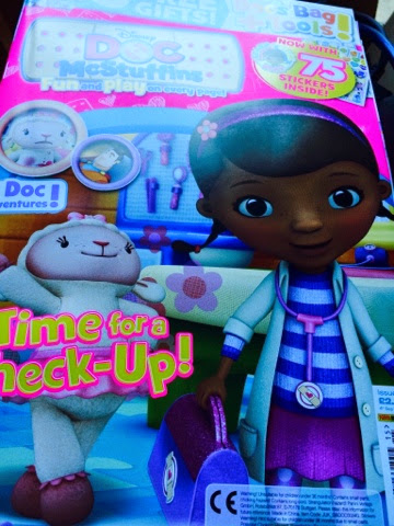 Doctober Doc Mcstuffins Twitter Party Box #doctober magazine