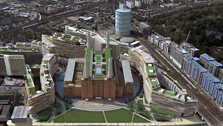 Modern Complex in London