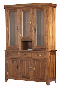 cottonwood shaker china cabinet