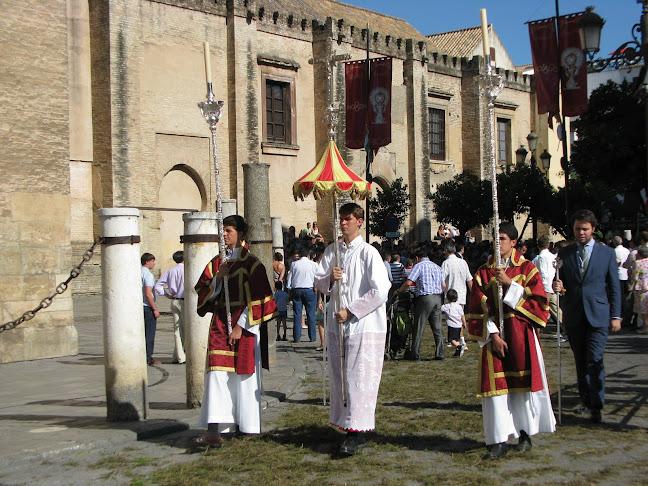 Corpus Christi procession, Seville, Spain
