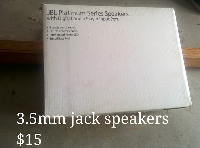 JBL Platinum Series Speakers