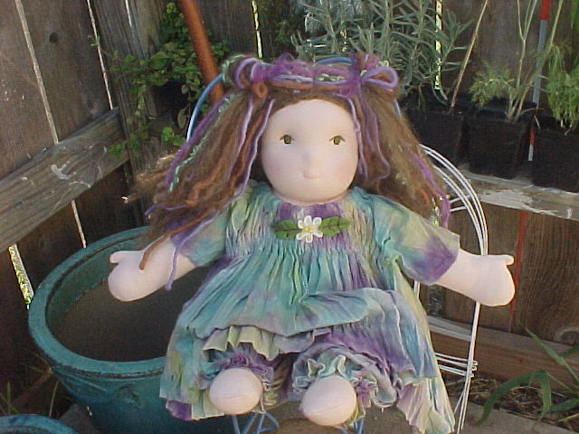 Hand Dyed Broomstick Outfit Custom -Your Choice of Colors and Doll Size