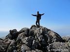 Atop Monument Peak