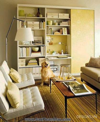 Các mẫu thiết kế nội thất phòng đọc sách P1-10