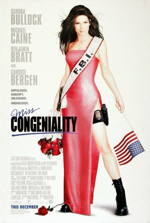 Poster Of Miss Congeniality (2000) Full Movie Hindi Dubbed Free Download Watch Online At alldownloads4u.com