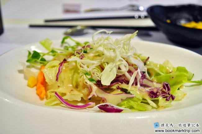 鰭味日式定食 - 冷物生菜沙拉