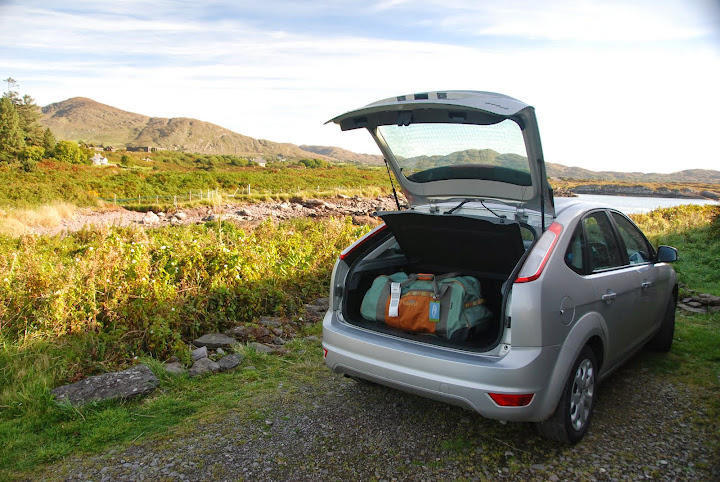 Get a small rental car in Ireland to fit on the roads