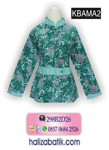 KBAMA2 Baju Batik Atasan, Grosir Pakaian, Batik Wanita Modern, KBAMA2