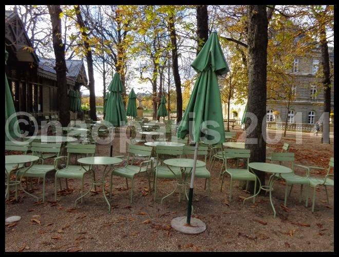 Jardin du luxembourg le pavillon de la fontaine le for Cafe jardin du luxembourg