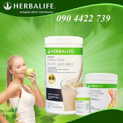 Bộ 3 thực phẩm ăn kiêng Herbalife