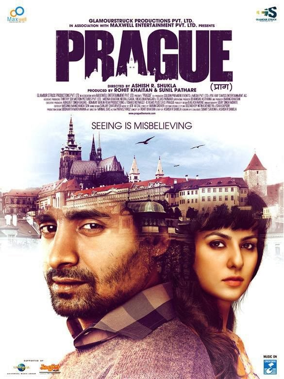 Poster Of Hindi Movie Prague (2013) Free Download Full New Hindi Movie Watch Online At Alldownloads4u.Com